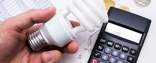 Calculating business energy bills