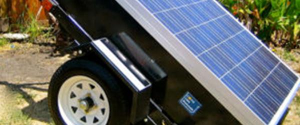Portable solar panel)