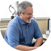 Circular photo of IGS employee