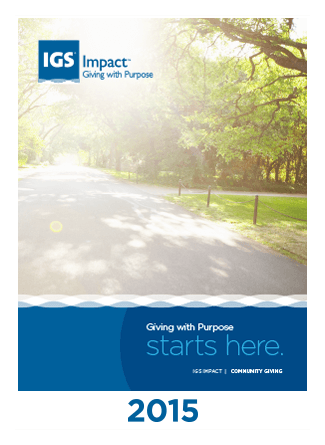 IGS Impact Annual Report 2015