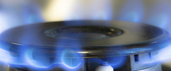 Close up of Gas Burner
