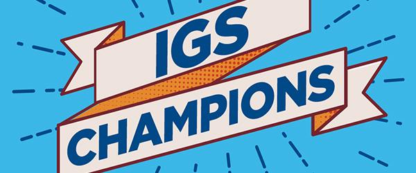 IGS Champions Large Banner Logo