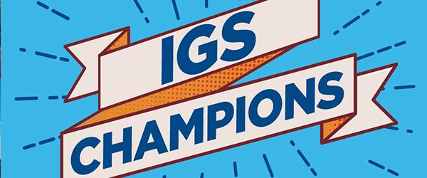 IGS Champions Banner Logo)