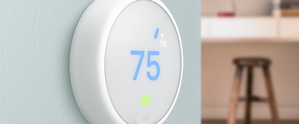 All White Nest Thermostat)
