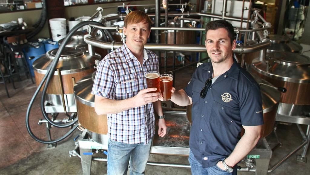 Gavin Meyers and Tim Ward, North High Brewing Company