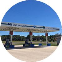 Circular image of IGS CNG Service Station