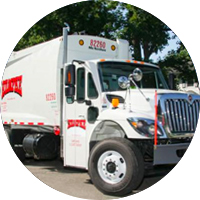 CNG Fueled Rumpke Truck