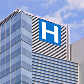 Hospital with by combined heat and power