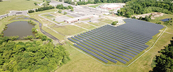 Large Scale Ground Mounted Solar Farm
