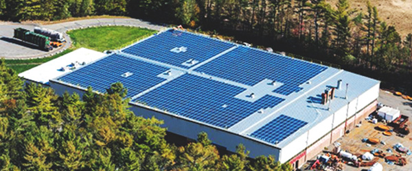 IGS Solar Panels at Steel Tank Manufacturer