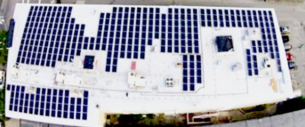 IGS Solar Panels at Sturgis Charter Public High School