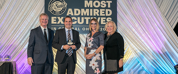 IGS CEO Scott White Accepts 2018 Most Admired Executives Award