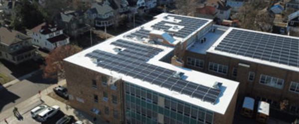 Trenton St. James Rooftop Solar Panels