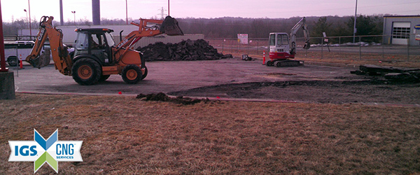 Youngstown CNG Station Groundbreaking