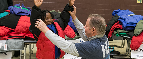 IGS Energy donates coats in Cleveland
